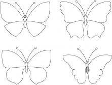 Motyle z papieru <3