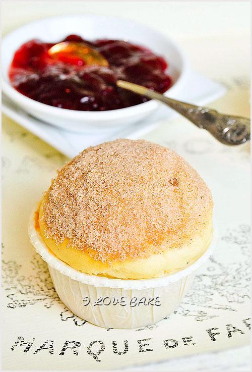 Muffinki jak pączki, najlepsze – przepis