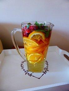 Woda smakowa. Pomarańcze, t...
