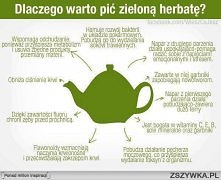 Zielona herbata górą! :P
