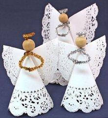serwetkowe aniołki