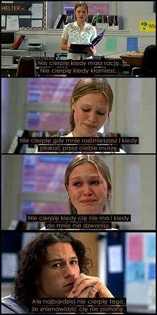 Zakochana Złośnica - moja kolejna obsesja z dzieciństwa. Taka lekka komedia ale uwielbiam ten film :)