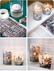 świetny pomysł na świeczki
