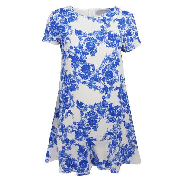 Idealna sukienka na co dzień ;) Uwielbiam kwiatowe wzory