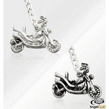 Idealny prezent dla niego. Brelok do kluczy w kształcie motora wykonany w całości ze srebra próby 925.