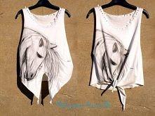 Ostatnio zmalowana i przerobiona :)  Zapraszam do siebie na fb :) Malowane Koszulki