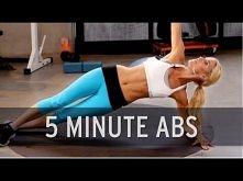 How to Lose Belly Fat: 5 Minute Abs ostatnio znalazłam bardzo ciekawe ćwiczenia, co o nich sądzicie ? :)