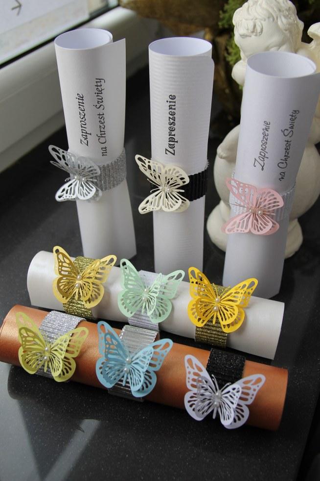 Zaproszenie Na Urodziny Motyl