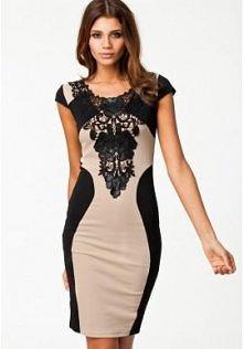 Elegancka sukienka do kolan...