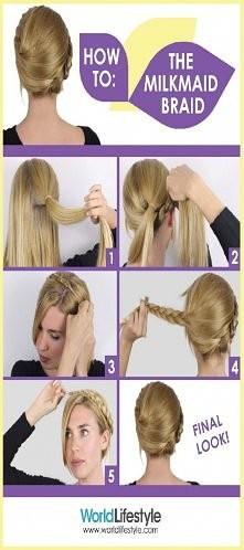 milkmaid braid