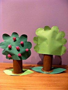 Zabawki dla dziecka z rolek po papierze toaletowym  Szczegóły na  barbea.blogspot.com