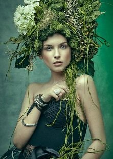 zieloność natury