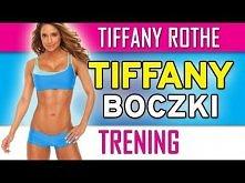 Ćwiczenia na boczki z Tiffany + brazylijskie pośladki