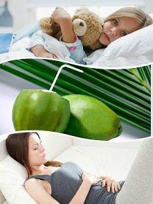 Woda kokosowa nawadnia organizm i uzupełnia elektrolity. Ma właściwości zdrow...