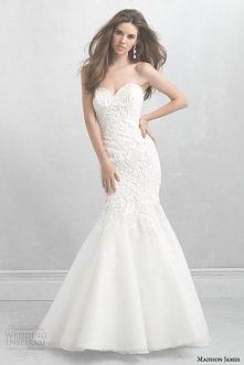 Allure Bridals newest line, Madison James