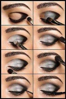 ładny makijaż ;3
