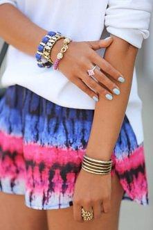 Kolorowe szorty. Nosilabym :)