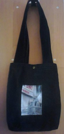 Kolejna torba  Czarna torba...