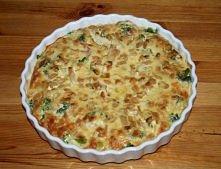 Tarta kurczakowo-cebulowa