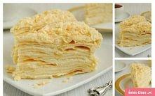 Ciasto Napoleon Składniki CIASTO: 0,5 kostki margaryny 3 łyżki cukru pudru 5 ...