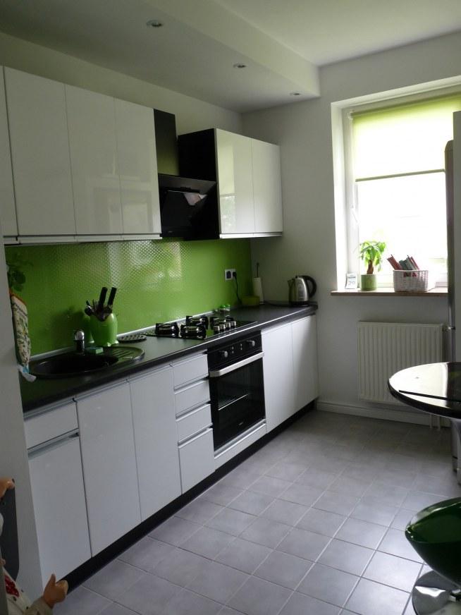 Moja zielona kuchnia na Moje mieszkanie  Zszywka pl