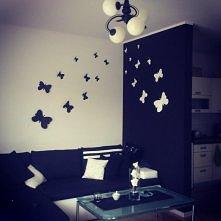 Własnoręcznie zrobione motyle :-)