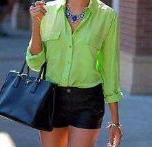 neon green .