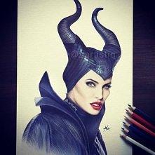 Maleficent. Genialny rysune...