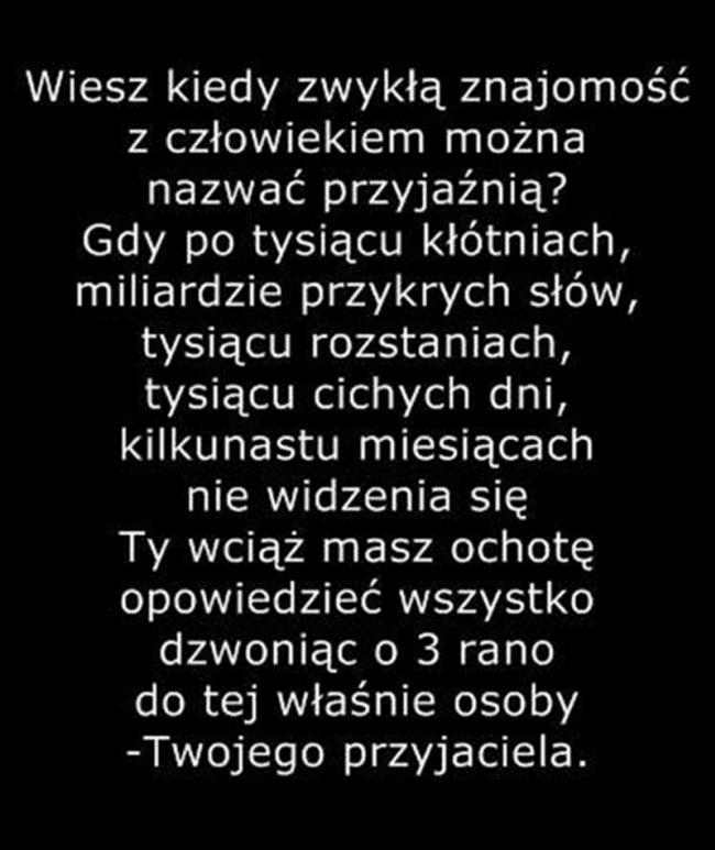 Przyjażń Na Tekstyopisycytaty Zszywkapl