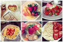 Lato, owoce, różnorodne miksy =) Teraz jest doskonała pora, żeby otrzymać swoją dawkę witaminek <3
