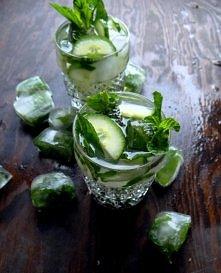ogórkowo- miętowa lemoniada- coś dla ochłody :) - po przepis kliknij w zdjęcie