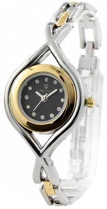 Zgrabny zegarek damski na bransoletce.