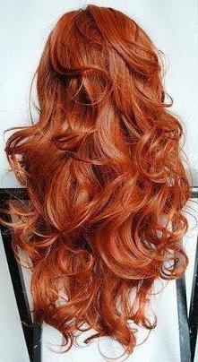 rude, piękne włosy <3