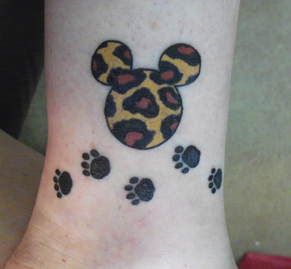 Myszka Miki Disney Na Tatuaże Zszywkapl