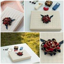 Pudełko DIY na prezent, na biżuterię albo na kosmetyki. Uwielbiam je robić