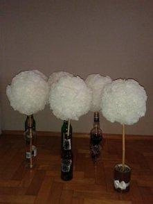 dekoracje stołów-kule styro...