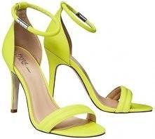 Neonowe sandałki <3