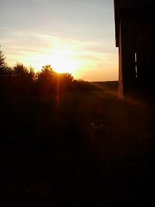 zachody słońca..