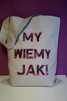 Znajdź nas na Facebook'u: MJAŁ i zamów własną, unikatową torbę.