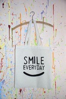Torba dla zawsze uśmiechniętych osób :D