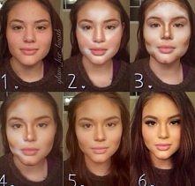 to nie Photoshop - to idealny makijaż ! ;)