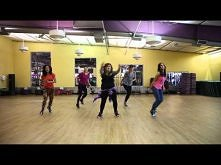 HOT Girls Dance Fitness Cho...