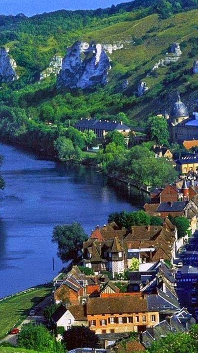 Les Andelys, Haute-Normandie, França