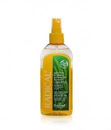 Wyjątkowo aktywna odżywka w sprayu, dzięki skoncentrowanej, dwufazowej formule skutecznie wspomaga pielęgnację włosów suchych i łamliwych.