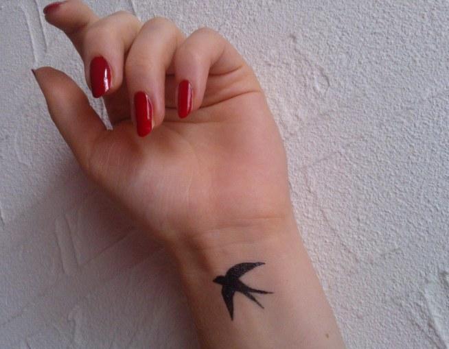 Trochę Tuszu I Tatuaż Na Próbę ładny Na Mój Styl Zszywkapl