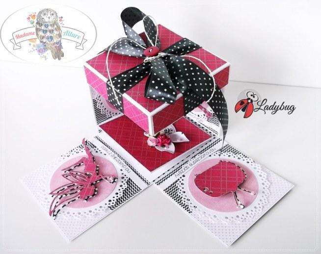 Wszystkie nowe Pudełko na prezent ślubny / pudełko na pieniądze weselne. Unika MV51