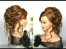 Bridal, wedding hairstyle f...