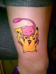 pokemony tatuaże