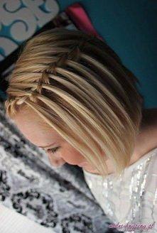 cos dla krótkich włosów ;)