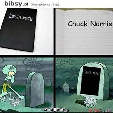 niestety ale nawet Notatnik Śmierci go nie pokona...